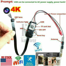 HD 4K Wifi IP P2P Wireless Camera Hidden Spy Camera Security Recorder DVR USPS