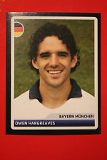 PANINI CHAMPIONS LEAGUE 2006/07 # 169 BAYERN MUNCHEN HARGREAVES BLACK BACK MINT!
