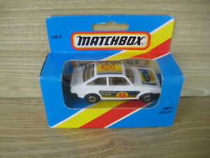 MATCHBOX SUPERFAST   MB 9  FORD ESCORT  Shell     ABSOLUTELY MINT