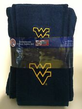 West Virginia University 3pc College Bath Towel Set by Northwest Co.