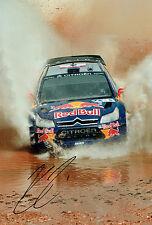 Kimi RAIKKONEN SIGNED Autograph Rally Photo Citroen Red Bull Driver AFTAL COA