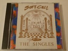 "SOFT CELL ""The Singles 1981-1985"" 1986 Phonogram Import; Marc Almond, David Ball"