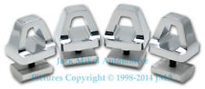 Pirate Chrome Billet Aluminium Cargo Rails Hooks for HUMMER H2 SUV & SUT and H3