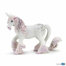 ENCHANTED PINK UNICORN FANTASY HORSE BY PAPO REF 39116 - BRAND NEW WITH TAGS