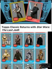Topps Star Wars Card Trader Classic The Last Jedi Blue Set of 14 - Award Ready