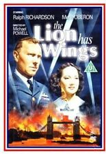 The Lion Has Wings NEW PAL Classic DVD Michael Powell Merle Oberon R. Richardson