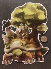 Pokemon Sticker Torterra Cubone Murkrow Litwick Hoot hoot Mural Group