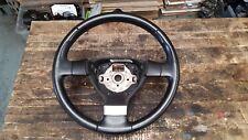 VW JETTA MK3 3 SPOKE BLACK LEATHER STEERING WHEEL 1K0419091EQ