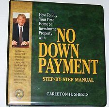 Carleton H. Sheets No Down Payment - Complete System