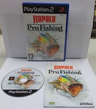 Console Game SONY Playstation 2 PS2 PSX2 PAL Pesca RAPALA PRO FISHING Activision