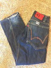 Men's VGUC EDWIN JEANS Sz 28/Small E-Function Twisted Seams Straight Leg Jeans
