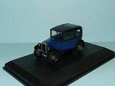 Oxford Automobile Co 1/43 Austin Seven 7 RN Saloon Light Royal Blue MiB