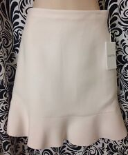Valentino  Skirt Ivory Silk Short Flair Size 2NWT $1190