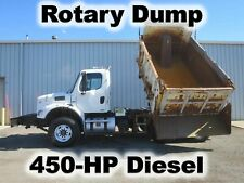 M2 112 450-Hp Diesel 12Ft Rotary Rotating Dump Bed Body Rail Road Haul Truck