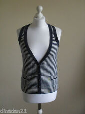Womens River Island cardigan/shrug, size 10, blue/white