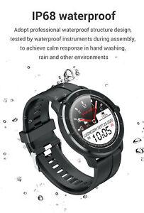 Full Touch Screen Smart Watch Men Women IP68 Waterproof Blood pressure oxygen