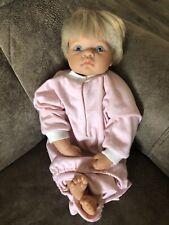 "New listing 1998 Lee Middleton by Reva Original Baby Doll #090798 Blond Blue Eyes 17"""