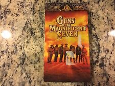 GUNS OF THE MAGNIFICENT SEVEN NEW SEALED VHS 1969 CLASSIC WESTERN GEORGE KENNEDY