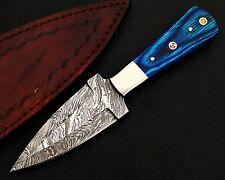 HUNTING STAG USA FORGED DAMASCUS-STEEL DAGGER KNIFE