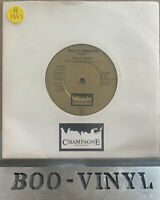 "Billy Frazier - Billy Who? Rare 7"" UK 1980 Champagne FIZZ 503 disco NR MINT CON"