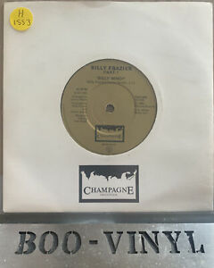 """Billy Frazier - Billy Who? Rare 7"""" UK 1980 Champagne FIZZ 503 disco NR MINT CON"""
