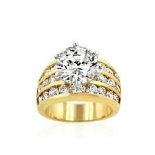 Nice Classic Gold Engagement Ring (size: 10)