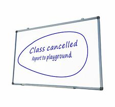 Magnetic Whiteboard 1200x900 mm Wall Mounted
