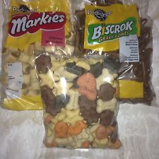 Dog Biscuit Assortment Markies,Shapes,And Gravy Bones Free Postage