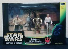 Star Wars Power of the Force POTF2 Cinema Scene Purchase of the Droids