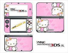 HAUT STICKER AUFKLEBER - NINTENDO NEU 3DS XL - 3DSXL REF 66 KITTY