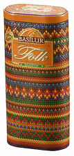Basilur Knitted Colction Rainbow - Black Tea with Fruits and Flowers in Gift Tin