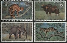 Thailand 1975 723-276 20s-3b Protected Animals - full set of 4 stamps