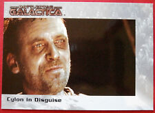 BATTLESTAR GALACTICA - Premiere Edition - Card #49 - Cylon in Disguise