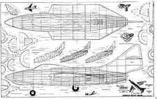 Telasco Grumman F9F Panther para Jetex 600 conjunto de plan