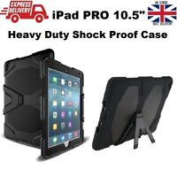 iPad Air 3 (2019) 10.5 in Military Builder Heavy Duty Shock Proof Case + Stand