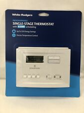 White Rodgers Heating and Cooling Programmable Thermostat