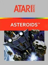 Asteroids (Atari 2600, 1981) cleaned and tested, loose cartridge w/out end label