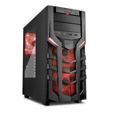 Nvidia VR READY Gaming PC Computer Desktop Quad Core AMD 4.0 GHz 8GB 1TB Win10