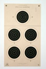 A-31 [A31] NRA Official 50 Yard Smallbore Light Rifle Target, on Tagboard (22)