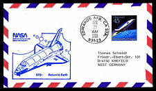 1990 LANDING DISCOVERY STS-31 - EDWARDS AFB, CA - C126a FRANKING (ESP#3110)