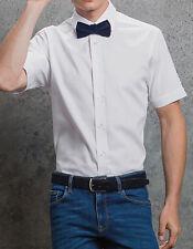 Kustom Kit Premium Herren Hemd Kurzarm Oxford S M L XL XXL Fair Wear Öko-Tex
