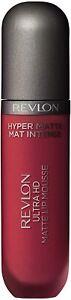 Revlon Ultra HD Vinyl Lip Polish Glossy Mousse Lipstick 5.9ml - RED HOT