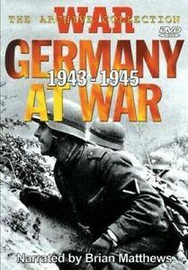GERMANY AT WAR 1943 -1945 DVD - WW2 World War 2 Documentary Education History