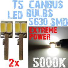 2 LED T5 5630 White 5000K Gloeilampen instrumentenpaneel Lighting Bright 1A10.2