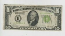 Federal Reserve Note $10 1928-B Redeemable in gold vf