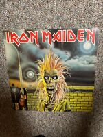 IRON MAIDEN Self-Titled, LP - EMI 1st Pressing, A1/B1 - 1980, VG /  VG+