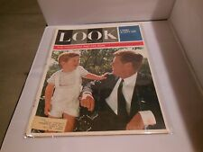 "December 3rd 1963 ""Look"" Magazine John F. Kennedy & Son Issue JFK"