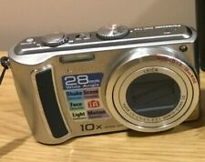 Panasonic LUMIX DMC-TZ4 8.1MP Digital Camera Silver 28mm Wide Angle 10x Optical