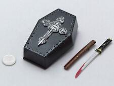 1/6 DAM Gangsters Kingdom Spade Ada GK008 Coffin Backpack Katana Sword Set *TOY*