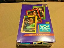 1991 WCW Official World Championship Wrestling Trading Cards Box Set Sealed